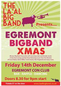La'al Big Band @ Egremont Conservative Club | England | United Kingdom