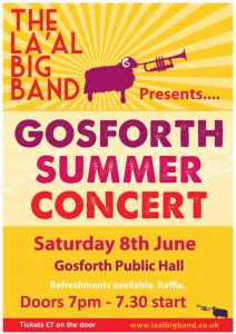 La'al Big Band @ Gosforth Public Hall